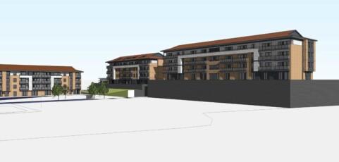 Próxima construcción de 30 viviendas en Area San Martín de Oñati