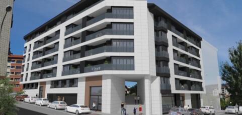 Iniciamos la construcción 44 viviendas y garajes en Amurrio
